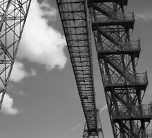 Newport Transporter Bridge 1906 by Dana Kay