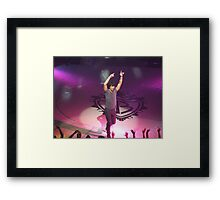Joe Jonas Framed Print