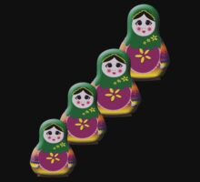 Matryoshkas 4 by Rainy
