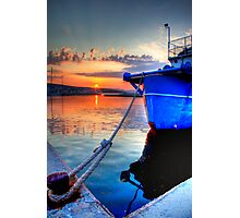 Kefalonian Shipyard Photographic Print