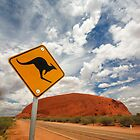 Uluru in Australia by Alex  Bramwell