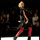Diet Coca Cola Little Black Dress Show - Charlotte Dawson  by David Petranker