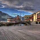 Queenstown Harbour at Dawn by Tony Burton