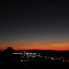 Phoenix, AZ Sunset from the rooftop by kallalilys