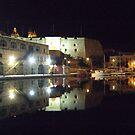 Reflection Dock No.1 Grand Harbour Malta by DeborahDinah