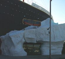 Titanic Museum Entrance - Through an Ice Berg? by LKELLEY