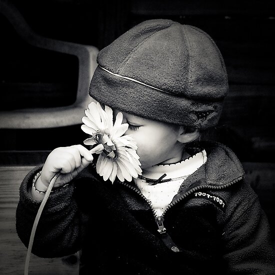 ...don't forget to smell the flowers... by Geoffrey Dunn