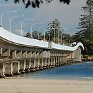 Forster - Tuncurry Bridge NSW Australia by Bev Woodman