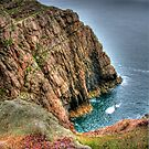 """Edging the Cliffs"" by Bradley Shawn  Rabon"