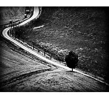 The Curve in the Road Photographic Print