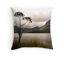 The Tree at Buttermere Throw Pillow
