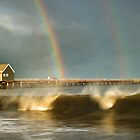 Busselton storm. by Peter Hodgson