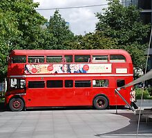 london bus by Janis Read-Walters
