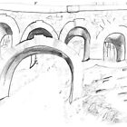 Seven-Arch Bridge, Rivington by Julie Lunan
