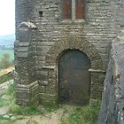 The door of the Pigeon Tower by Julie Lunan