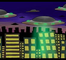 flying saucers... by kangarookid