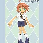 Ginger Poster by KeitaChan
