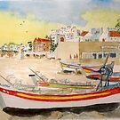 Summer on The Algarve by GEORGE SANDERSON