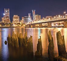 Portland City Skyline by Matthew Tauzer