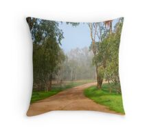 "An Aussie ""Frog and Toad"" ~ Cootamundra NSW Throw Pillow"