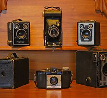 Old Brownie Cameras by Mark Whittle