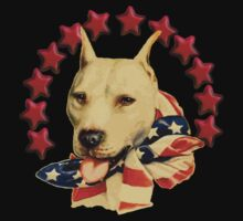 Vintage Pitbull Terrier T-Shirt by simpsonvisuals