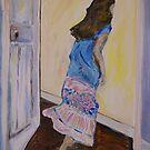 Running Girl by Julie-Ann Vellios