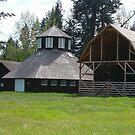 Octagonal Dairy Barn, Fintry Provincial Park. by Jeff Ashworth & Pat DeLeenheer