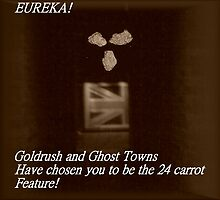 Goldrush and Ghost Towns Feature by monica98