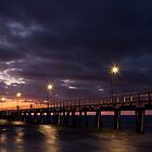 Twilight Jetty by Mike Turner