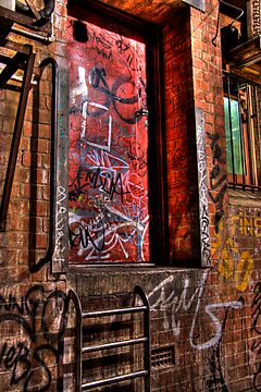The Red Door by Steve Chapple
