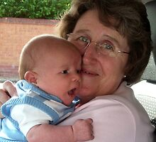 Great Grandson No 2.. Logan now 4 weeks, by AnnDixon