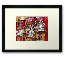 Temple Bells Framed Print