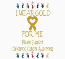 I Wear Gold for Me Tee by Pam Moore