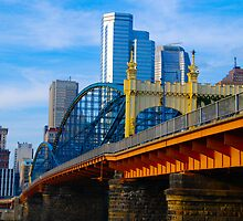 Colorful Pittsburgh Bridge by Karl Salvini