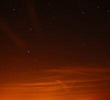 night sky by iwasframed