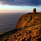 Watchtower on Moher by Damien O'Halloran
