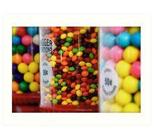 Candy color Art Print