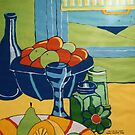 Still Life Acrylic by Donna Huntriss