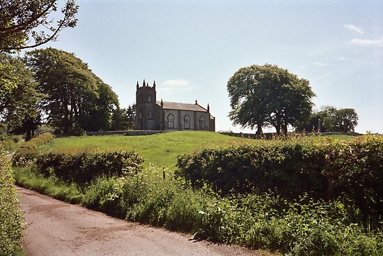Buittle Church by Ray Vaughan