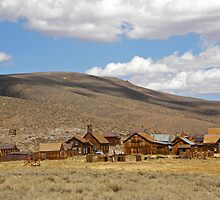 Shadows of a Ghost Town ~ Bodie by Patty Boyte