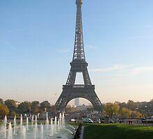 Le Tour Eiffel by ecotterell