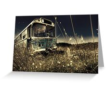The Bus #0201 Greeting Card