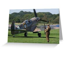 It`s A Squadron Scramble !!!! Greeting Card