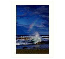 """Rainbow Break"" Art Print"