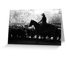 Ranch Cutting Greeting Card