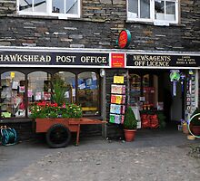 Hawkshead Post Office -  Lake District by 29Breizh33