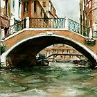 Venice Bridge by bournemonkey
