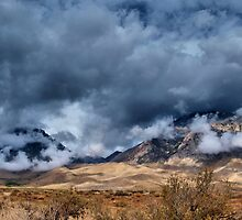 Basin Mountain and Mt. Tom by Chris Morrison