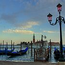 Sundown in Venice by Béla Török